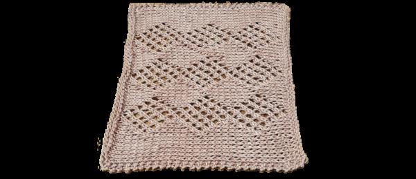 Diamond Pattern Dish Cloth – Brown
