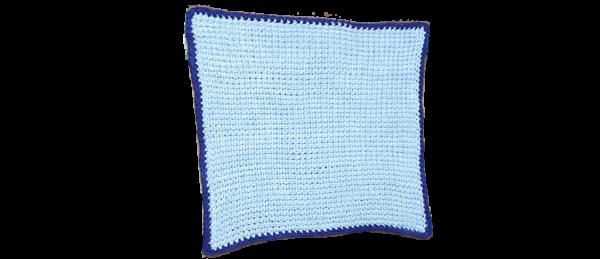 Tunisian Crochet Dishcloth (Blue)